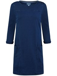 Seasalt Druse Denim Dress Indigo Dye