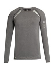 Casall M Power Long Sleeved Performance T Shirt Grey