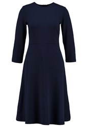 Kiomi Jersey Dress Dark Blue