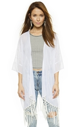 Love Sadie Summer Breeze Kimono White