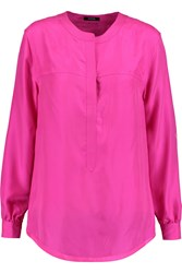 Raoul Carnaby Washed Silk Blouse