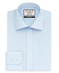 Thomas Pink Weston Plain Dress Shirt Bloomindale's Classic Fit Pale Blue