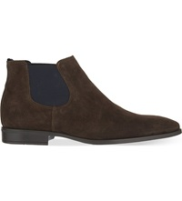 Kg By Kurt Geiger Lesley Suede Chelsea Boots Brown