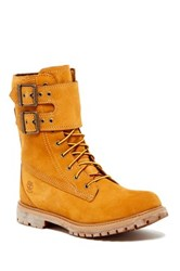 Timberland Double Strap Lace Up Waterproof Boot Beige