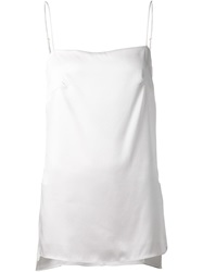 Adam By Adam Lippes Adam Lippes Side Slit Cami White