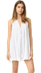 Chloe Oliver Viva La Swing Dress White
