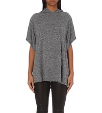 The Kooples Sweatshirt Inspired Jersey T Shirt Grey