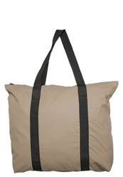 Rains Tote Bag Soil Taupe