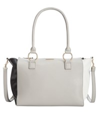 Rampage Satchel Only At Macy's Grey Black White