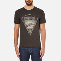 Obey Clothing Men's Society Of Destruction T Shirt Graphite Grey