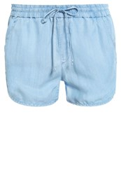 Gap Dolphin Denim Shorts Light Indigo Light Blue