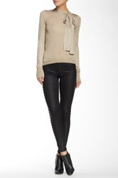 Current Elliott The Ankle Skinny Pant Black