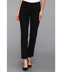 Miraclebody Jeans Judy Pull On Ankle Jean In Black Black Women's Jeans