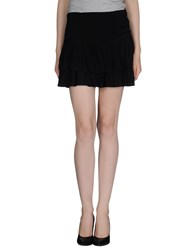 Ganni Skirts Mini Skirts Women Black