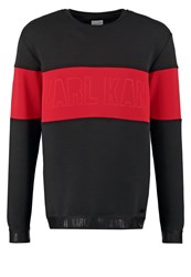 Karl Kani Kajam Sweatshirt Black Red