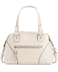 French Connection Brett Satchel African Stone