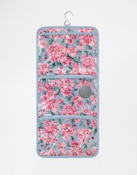 Cath Kidston Cosmetic Roll Case Blossom Bunch Blossom Bunch Clear