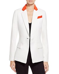 Milly Color Block Blazer