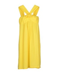 Ambra Angiolini X Aniye By Knee Length Dresses Yellow