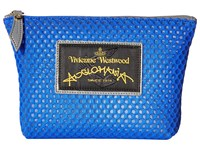 Vivienne Westwood Charms Make Up Bag Bluette Handbags