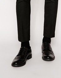 Frank Wright Leather Brogues Black