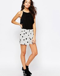 Jdy J.D.Y Double Polka Dot Relaxed Shorts Multi