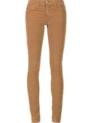 Ag Jeans Super Skinny Brown