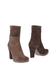 Pons Quintana Ankle Boots Cocoa