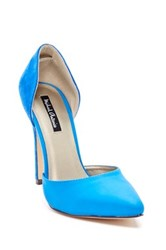 Michael Antonio Lander Pump Blue