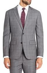 Bonobos Men's Fashion Foundation Trim Fit Plaid Wool Sport Coat
