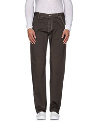 Canali Trousers Casual Trousers Men Military Green