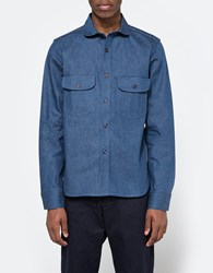 Rogue Territory Rancher Shirt In Light Indigo