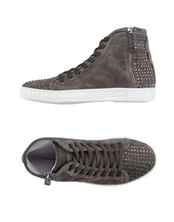 Alessandro Dell'acqua Footwear High Tops And Trainers Women Grey