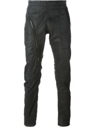Rick Owens Drkshdw Coated Slim Jeans Black