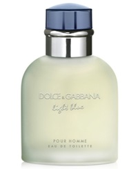 Dolce And Gabbana Light Blue Pour Homme Eau De Toilette 4.2 Fl Oz