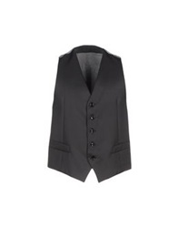 Alessandro Dell'acqua Vests Steel Grey