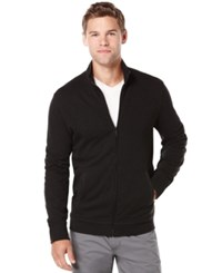 Perry Ellis Big And Tall Slub Full Zip Sweater
