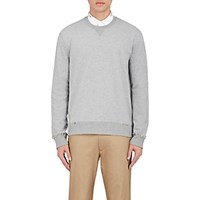 Valentino Men's Stud Embellished Sweatshirt Light Grey