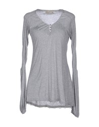 Just For You Topwear T Shirts Women Grey