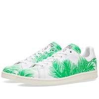 Adidas Consortium X Pharrell Williams X Bbc Palm Tree Stan Smith White