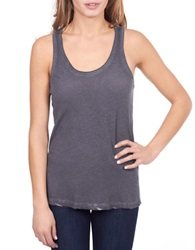 William Rast Washed Tank Top Grey