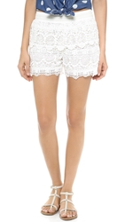 Bop Basics Cutie Beach Shorts White
