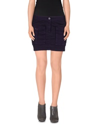 Gianfranco Ferre Gf Ferre' Mini Skirts Purple