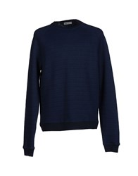 Oliver Spencer Topwear Sweatshirts Men Dark Blue