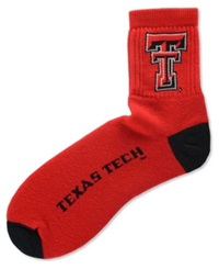 For Bare Feet Texas Tech Red Raiders Ankle Tc 501 Socks Team Color