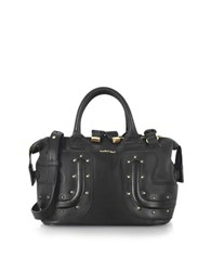 See By Chlo Kay Black Leather Satchel W Studs