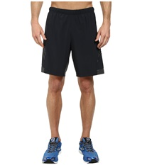 Pearl Izumi Flash 2 In 1 Run Short Black Shadow Grey Men's Shorts
