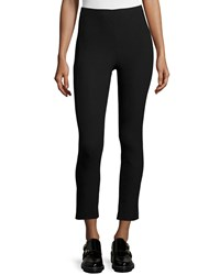 Rag And Bone Simone Cropped Stretch Pants Black