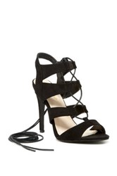 Liliana Toni Lace Up Sandal Black