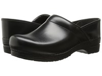 Dansko Professional Leather Men's Black Cabrio Leather Men's Clog Shoes
